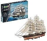 Revell Modellbausatz Schiff 1:96 - Cutty Sark im Maßstab 1:96, Level 5, originalgetreue Nachbildung...