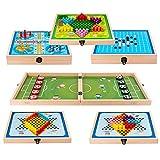 Spielesammlung 6 In 1 8 In 1 Board Game Set Spielesammlung Für Die Ganze Familie, Spiel Für Kinder...
