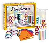 Sentosphere 3902359 Kreativ Kit Partykerzen, Bastelset, Kreativset für Kinder