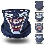 Joker schwarz helloween Verkleidung Gesichtstuch tuch multifunktionsmaske multifunktionsbekleidung...