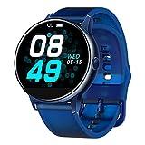 YQFN Smartwatch, Fitness-Tracker, C009, Smart-Armband, Silikon, runder Bildschirm, volle Berhrung,...