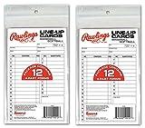 RAWLINGS System-17 Line-Up Karten (12 Karten), 2er-Set, 2 Pack