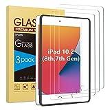 SPARIN [3 Stück] Panzerglas Schutzfolie für iPad 10.2 (iPad 8./7. Generation) /iPad Air 3 10.5...