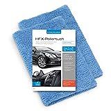 POLYCLEAN 2X Auto Mikrofasertuch  saugstarkes Poliertuch fr eine lackschonende Autopflege  randloses...