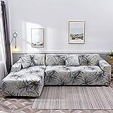 NOBCE Elastische Sofabezug Stretch Tight Wrap All-Inclusive-Sofabezüge für Wohnzimmer Couchbezug...