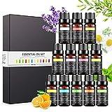 Magicfun Ätherische Öle Set, Aromatherapieöle Geschenkset 12 Pack, 100% reine natürliche...