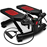 Sportstech 2in1 Twister Stepper mit Power Ropes - STX300 Modell 2019 Drehstepper & Sidestepper für...
