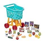 Battat BT2535C1Z Deluxe Einkaufswagen Spielzeug Set-mit Lebensmitteln-für Kinder ab 3 Jahren-23...