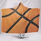 Ainiteey Basketball-Textur schick leuchtende Farben Kapuzendecke Sorgfältige Verarbeitung für...