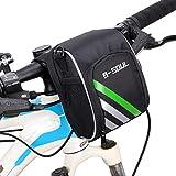 Fahrrad Lenkertasche mit Schulterriemen,1.2L Mountainbike Rahmentasche Umhängetasche...
