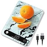 vinlley Digital Küchenwaage, Gewicht bis zu 10 KG, 22Ib Lebensmittel Küchenwaage Gewicht Gramm und...