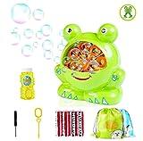 Morkka Bubble Machine Seifenblasenmaschine Automatische dauerhafte Bubble MakerSpielzeug Indoor und...