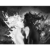 Fototapeten Coffee & Milk 352 x 250 cm Vlies Wand Tapete Wohnzimmer Schlafzimmer Bro Flur Dekoration...