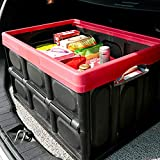 Koojawind Auto Folding Storage Box Folding Bin FüR Haushaltskleidung...