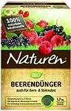 Naturen Bio Beerendünger, Organisch-mineralischer Volldünger für Beerenobst, Kern und Steinobst...