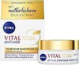 NIVEA VITAL Soja Straffende Tagespflege LSF 15 (50 ml), straffende Formel mit natürlichem...