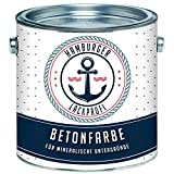Betonfarbe SEIDENMATT Schiefergrau RAL 7015 Grau Bodenfarbe Bodenbeschichtung Betonbeschichtung...