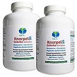 KNORPEL & GELENKE - Glucosamin + Chondroitin + Hagebutte KOMPLEX - 720 (2x360) KAPSELN...