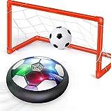 Ucradle Air Power Fußball Set Inkl. 2 Tore - 2019 Wiederaufladbar Hover Ball Indoor Football mit...