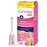 Conceive Plus Gleitmittel für die Fruchtbarkeit, individuelle Applikatoren, 8 x 4 g