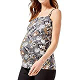 Snakell 2020 Damen Umstandsmode Maternity Schwangerschaftsshirt T-Shirt Nursing Schwangerschaft Tops...