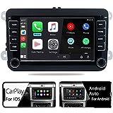 Autoradio Carplay Android Auto Bluetooth USB pour Golf Polo T5 CC Bettle EOS