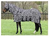 Fliegendecke Zebra Halsteil abnehmbar (155cm)