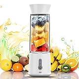 Tragbarer Mixer, 16.9 Oz Mini Standmixer, 4000mAh Usb Wiederaufladbar Persönlicher Juice Blender,...