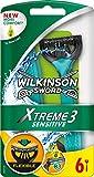 Wilkinson Sword Xtreme 3 Sensitive Einwegrasierer, 6 St