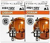 2x Osram 64185 HS1 35 / 35W 12V PX43t Hightech Longlife Halogenlampe Motorrad Bike Birne Leuchte...