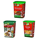 Knorr Notvorrat Lebensmittel Soen - Delikatess Sauce zu Braten, Bratenjus, Rahmsauce (Groverbraucher...