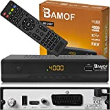 Bamof BE-2607 Digital Satelliten Sat Receiver - ( HDTV , DVB-S/S2 , HDMI , SCART , 2X USB 2.0 , Full...
