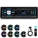 iFreGo DAB + Autoradio Bluetooth Freisprecheinrichtung, AutoRadio MP3-Player/FM Radio, USB...