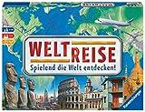 Ravensburger 26332 - Weltreise- Familienklassiker ab 8 Jahren - Gesellschaftspiel, Reise einmal um...