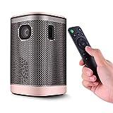 Topuality Mini-Projektor, tragbar, DLP Heimkino, 4500 Lumen, Android 6.0 (1G + 8G)...