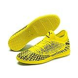 Puma Herren Future 4.4 IT Futsalschuhe, Gelb (Yellow Alert-Puma Black), 40 EU