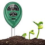 Bodentester, Boden Feuchtigkeit Meter, 3 in 1 Boden Feuchtigkeit und PH,[Für Gärten und...