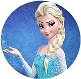 Frozen, ELSA, Eiskönigin Thema Runde Tortenaufleger Eiskönigin 20CM - Geburtstag Tortenbild...
