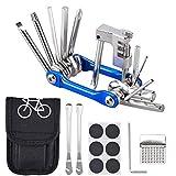 Fahrrad-Multitool Oziral 11 in 1 Werkzeuge fr Fahrrad Reparatur Set mit Kette Werkzeug und...