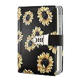 Tagebuch / Planer / Organizer mit Sonnenblumen-Schloss / Tagebuch / Tagebuch / Tagebuch / Tagebuch /...