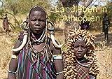 Landleben in Äthiopien (Wandkalender 2021 DIN A2 quer)