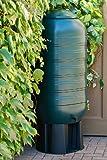 Kreher XXL Regentonne aus Kunststoff mit 250 Liter Volumen inklusive Stand, Füllautomat und Hahn!...