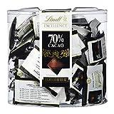 Lindt Excellence 70% Minischokoladentäfelchen -Edelbitter Intensiv (vegan, glutenfrei, laktosefrei)...