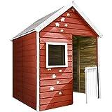 SOULET Spielhaus Maria (Gartenhütte, Holzhaus aus FSC zertifiziertem Kiefernholz, Kinderspielhaus...