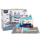 Parkhaus Garage Spielzeug, elektrische 3 oder 5-stufige Autospur Parkplatz Spielzeug mit...