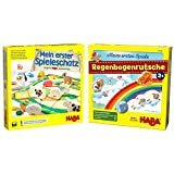 Haba 4278 - Mein erster Spieleschatz Die große Haba-Spielesammlung, 10 unterhaltsame Brett-, Memo-...