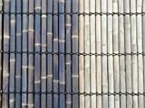 Bambuszaun Gartenzaun Bambus Sichtschutzzaun Sichtschutzwand Muria 100 x 200 (geölt, braun)