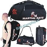 BAY® XL Sporttasche 'Martial Arts' im Rucksack Syte shoulder bag Kickboxen Kick-Boxen, Kampfsport,...