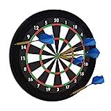 Relaxdays Dart Auffangring 'R5', Catchring Dartscheibe, 4-teilig, Surround f. Dartboards, EVA, 45...