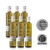 6 x Alexandros - extra virgin Olivenöl von Rhodos 0,5 Liter
